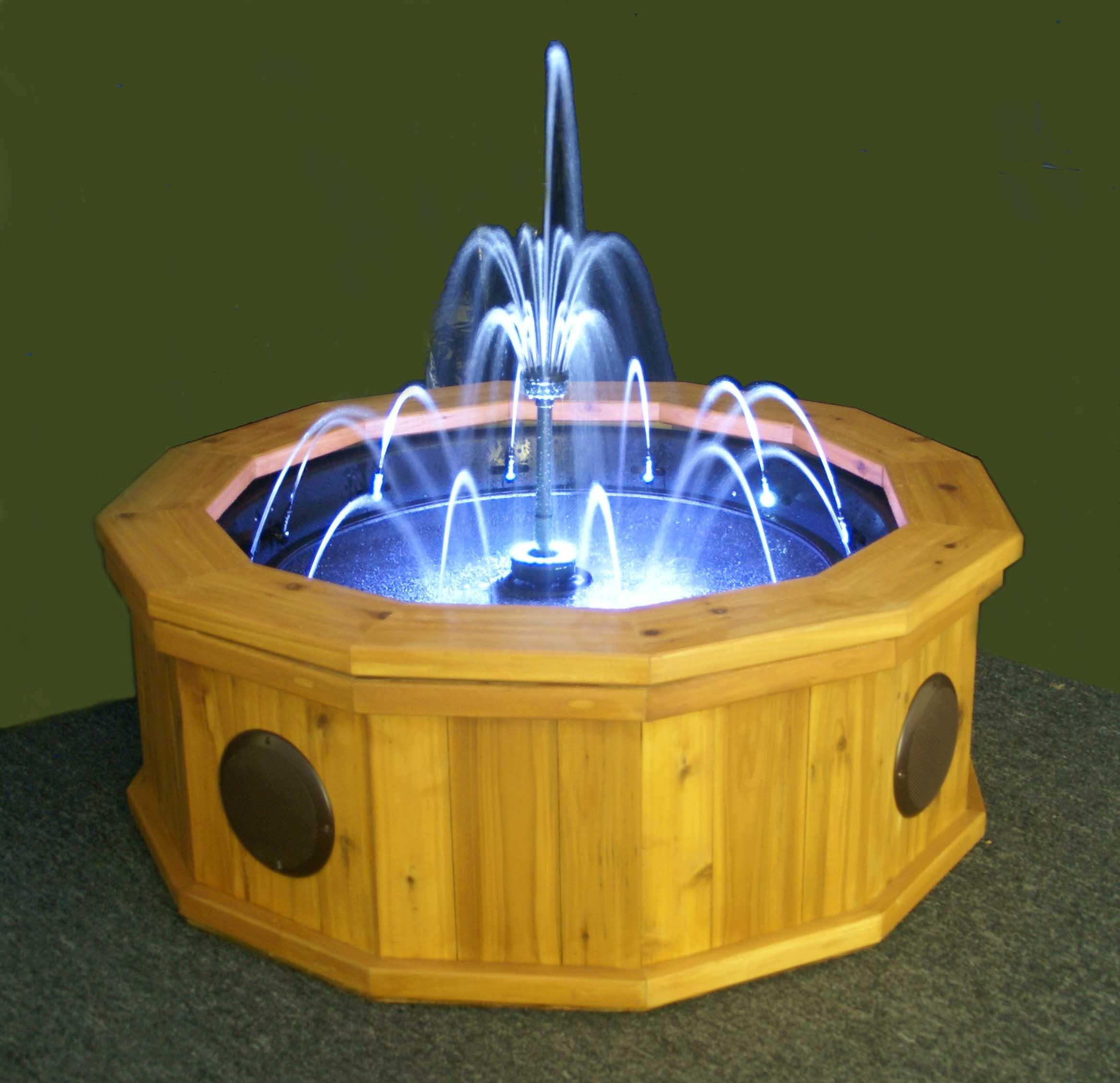 Reclaimed Cedar Model Water Fountain U2013 $3,595.00. U2022 48u2033 ...
